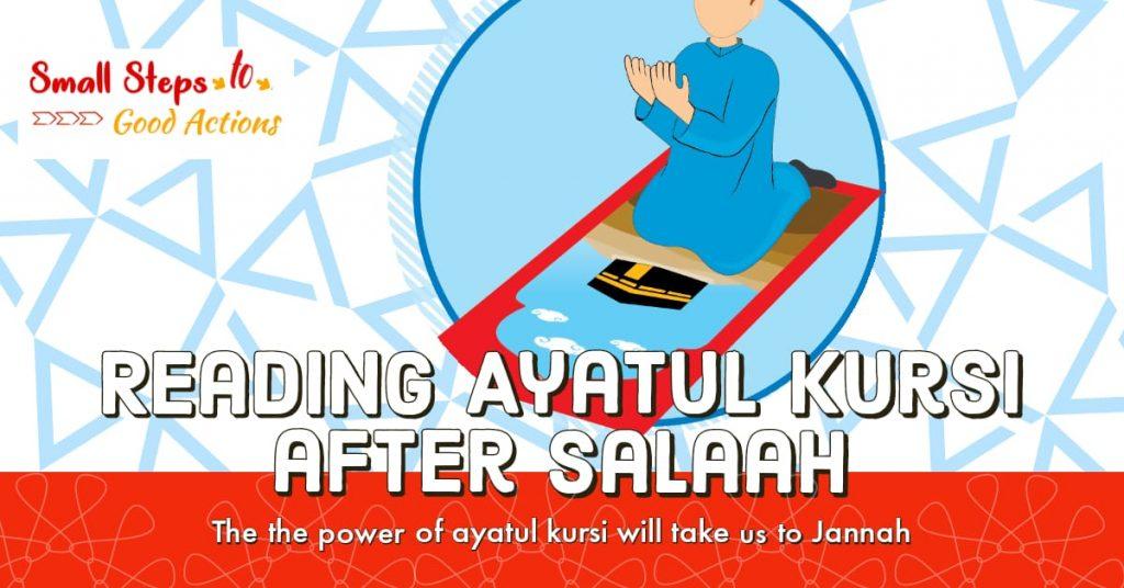 Reading Ayatul Kursi