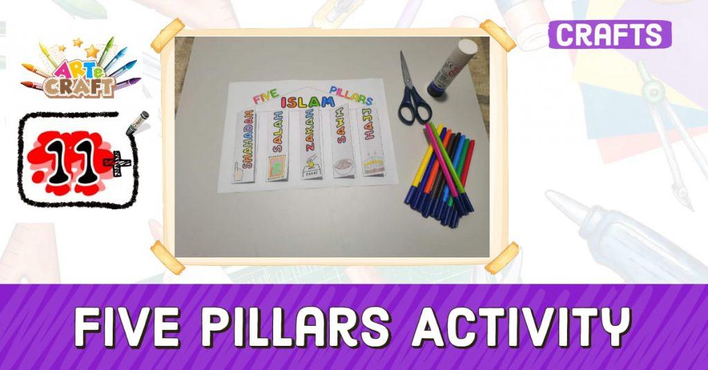 5 Pillars of Islam Activity 11+