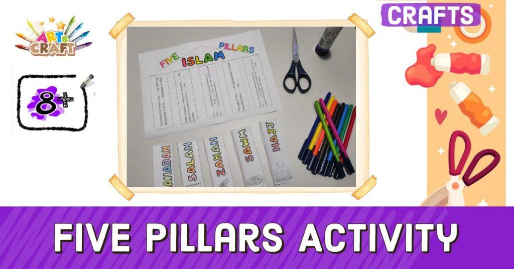 5 Pillars of Islam Activity 8+
