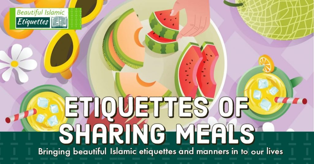 Etiquettes of Sharing Meals