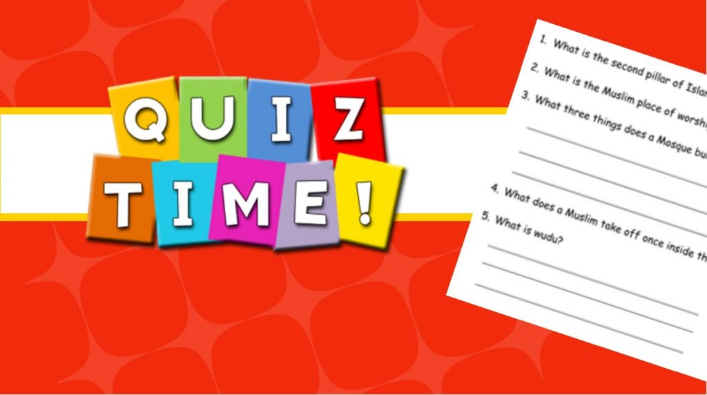 Quiz Time – Isa A.S – Part 5