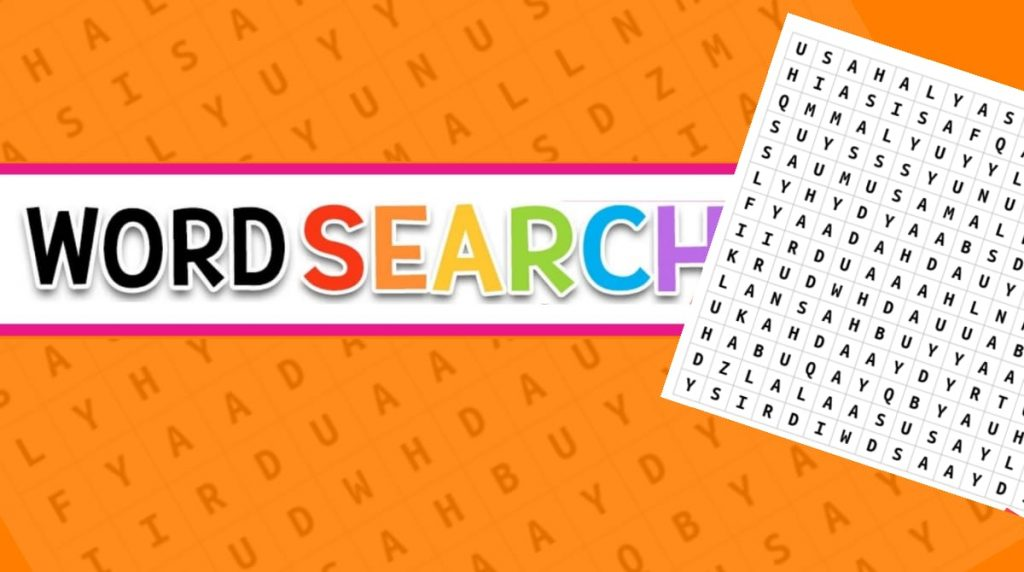 Word search – Isa A.S Part 6