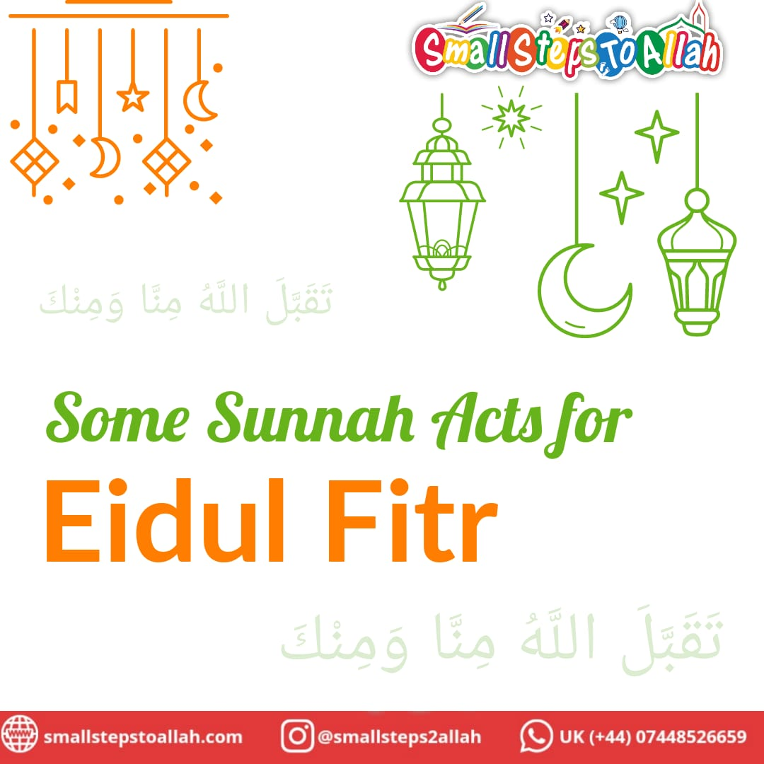 Cover Page Sunnats for Eidul Fitr