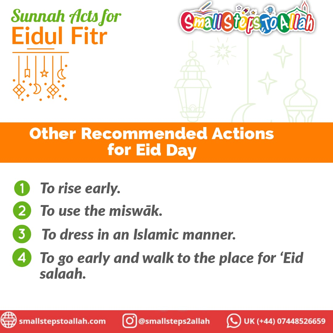 Other actions to carry out