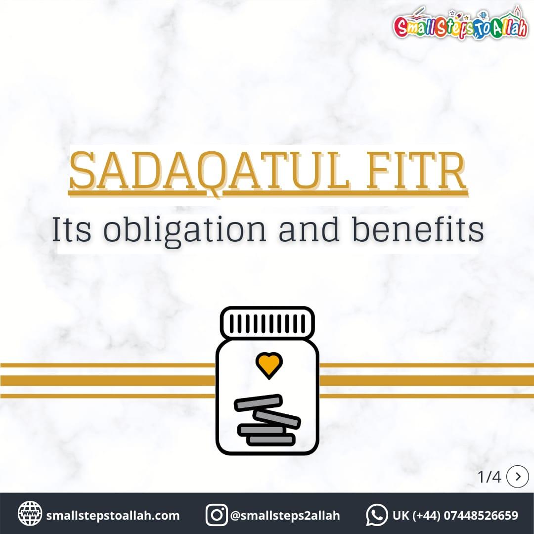 Sadaqatul Fitr Cover Page