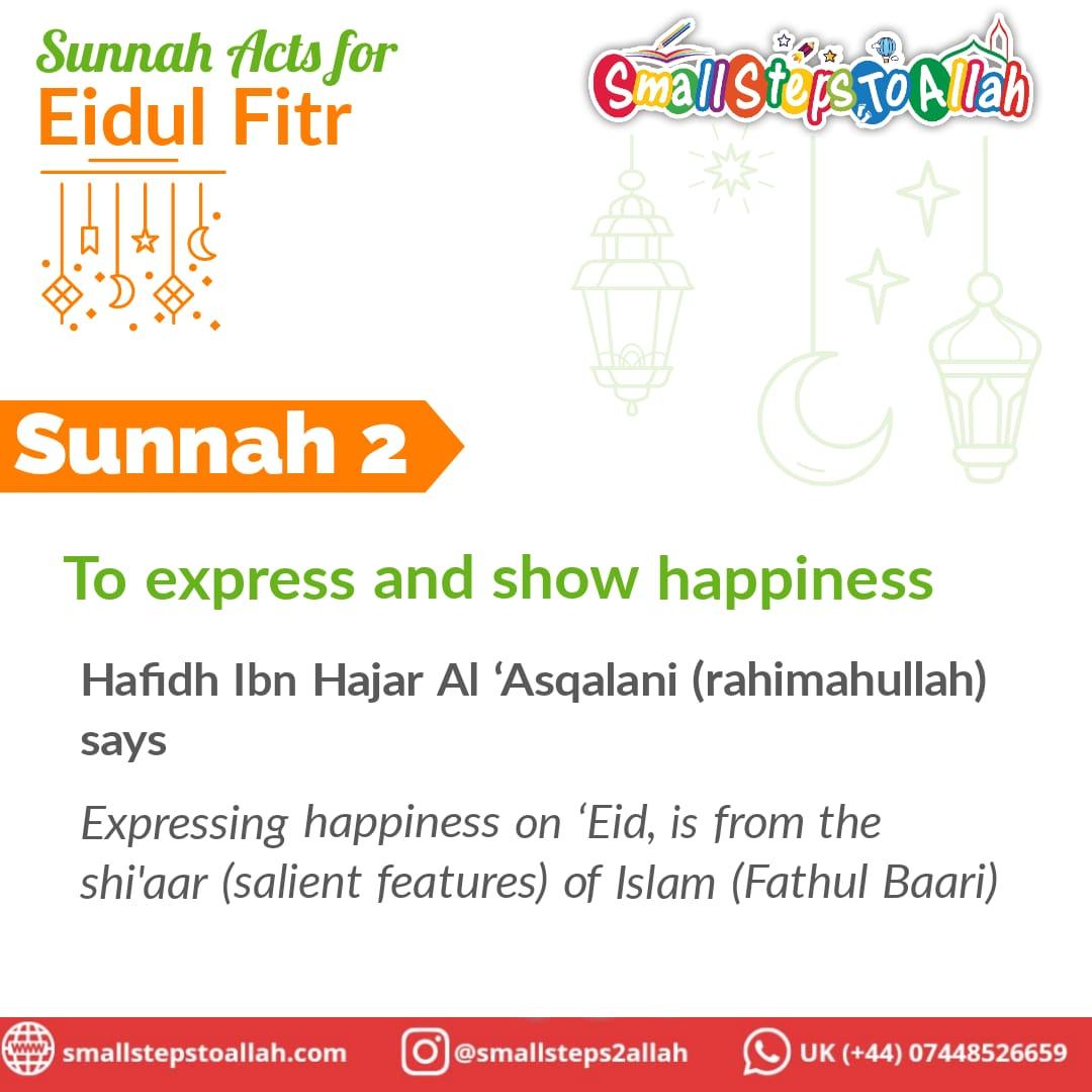 Sunnah 2 Eidul Fitr