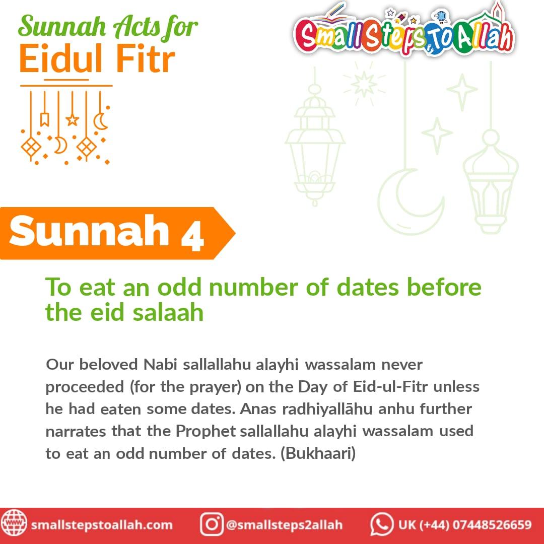 Sunnah 4 Eidul Fitr