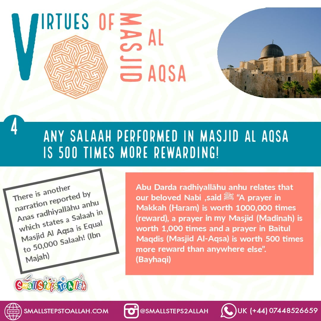 Virtues of Masjid Al Aqsa - 4