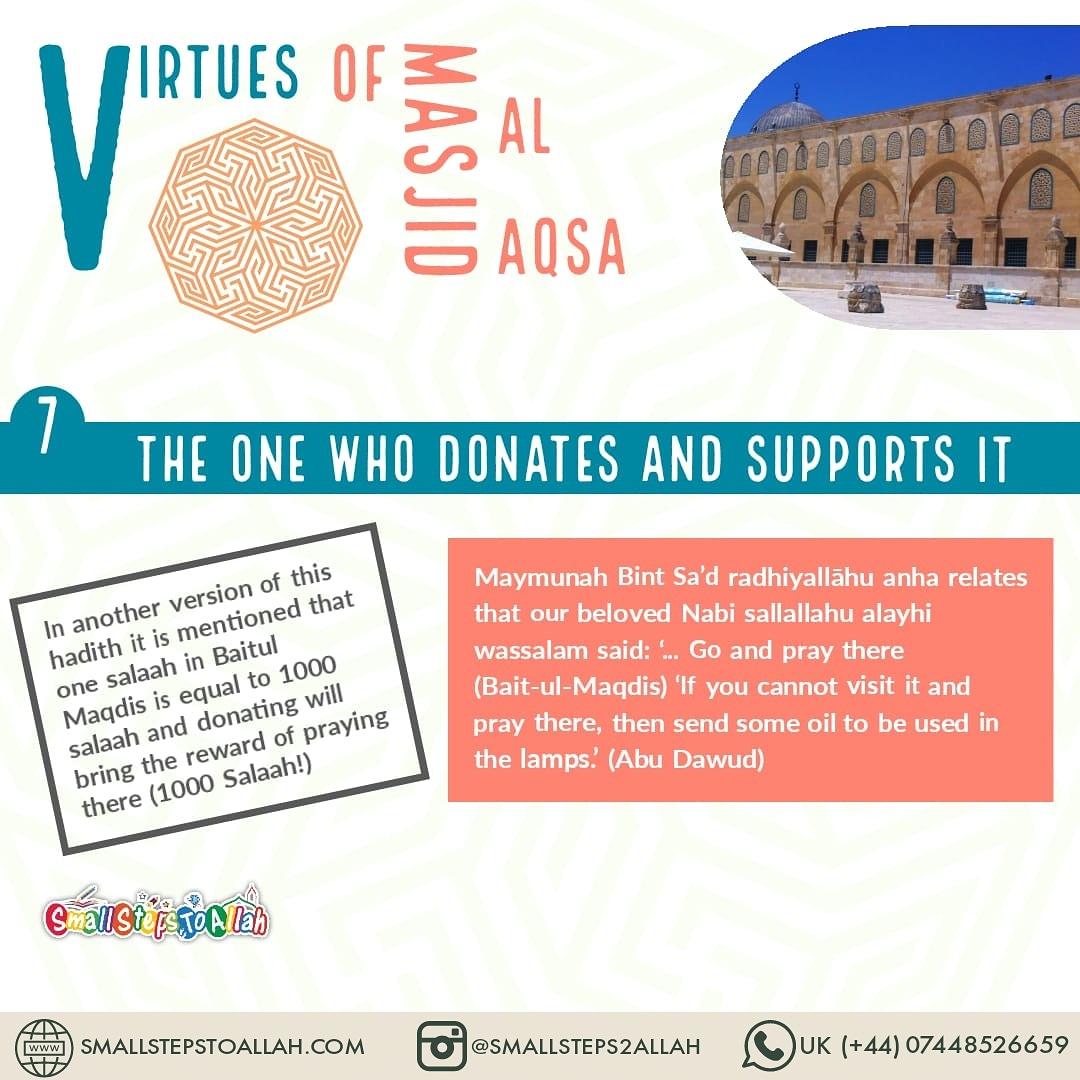 Virtues of Masjid Al Aqsa - 7