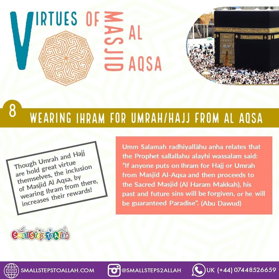 Virtues of Masjid Al Aqsa - 8