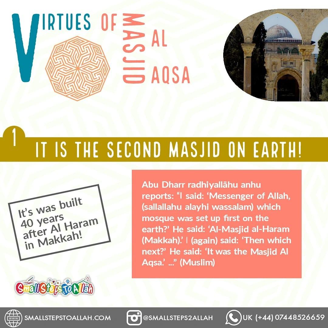 Virtues of Masjid Al Aqsa - 2