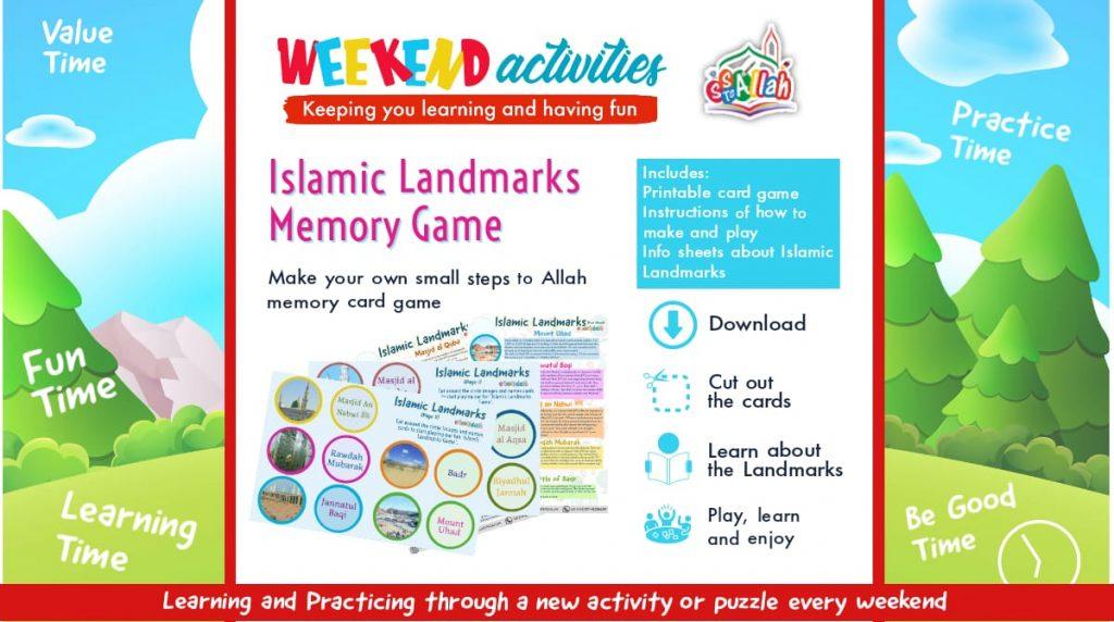 28. Weekend Activity – Islamic Landmarks Memory Game