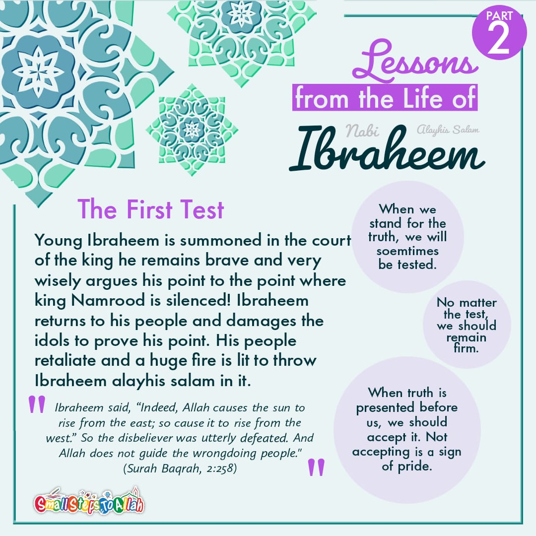 Lessons from the life of Ibraheem A.S Part 2