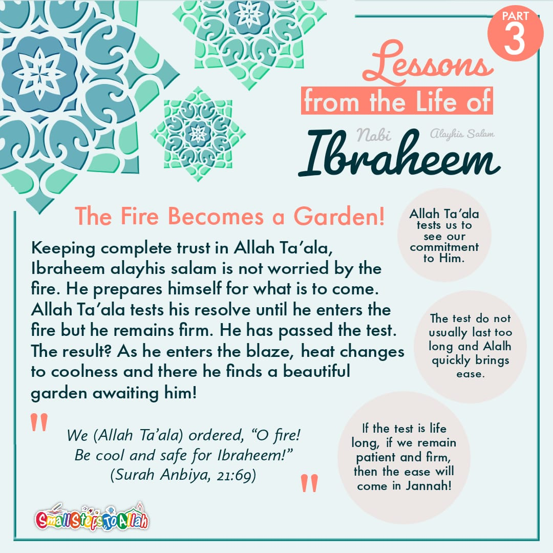 Lessons from the life of Ibraheem A.S Part 3