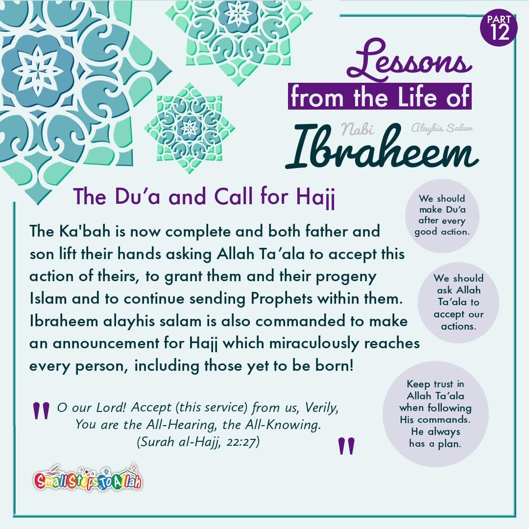 Story of Ibraheem Alayhis Salam Part 12