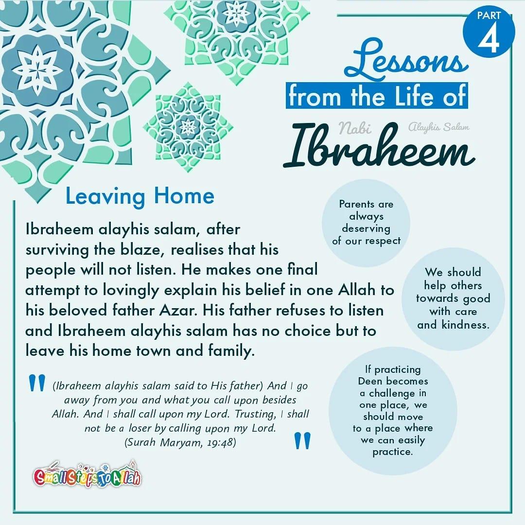 Story of Ibraheem Alayhis Salam Part 4