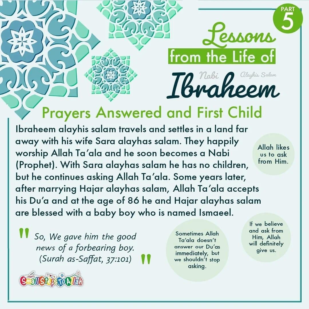 Story of Ibraheem Alayhis Salam Part 5