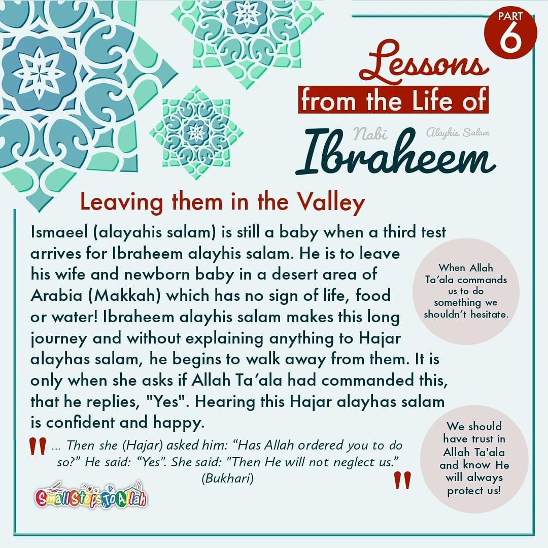 Story of Ibraheem Alayhis Salam Part 6